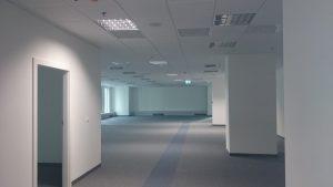 Remont w biurze Polimex Mostostal