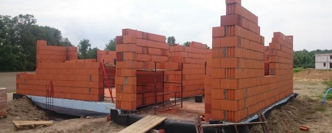 Budowa domu jednorodzinnego Kręczki.