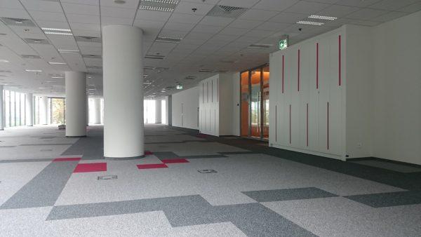 fit-out biura CGI Warszawa