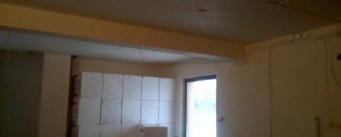 Kompleksowy remont domu jednorodzinnego.