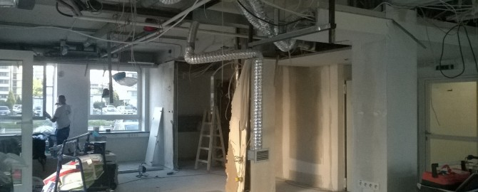 Kompleksowy remont biura