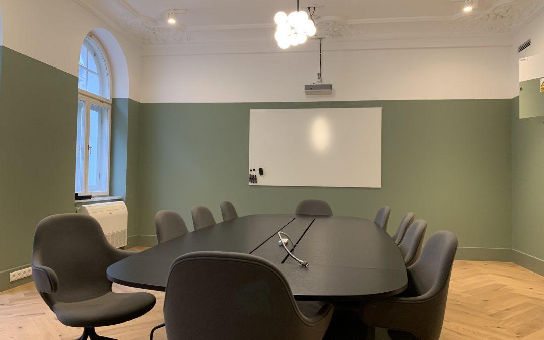 Aranżacja powierzchni biurowej EF